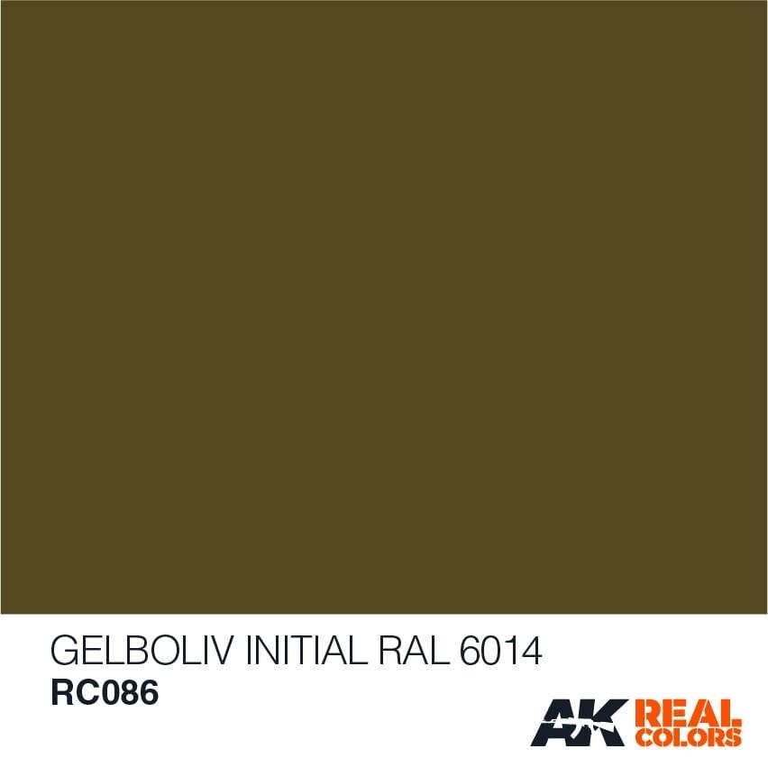 AK-Interactive Gelboliv (Initial) RAL 6014 - 10ml - RC086