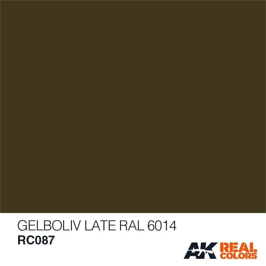 AK-Interactive Gelboliv (Late) RAL 6014 - 10ml - RC087