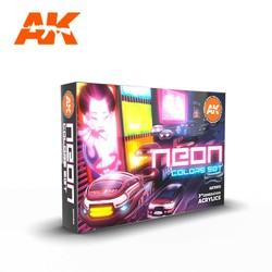 Neon Colors Set - AK-Interactive - AK-11610