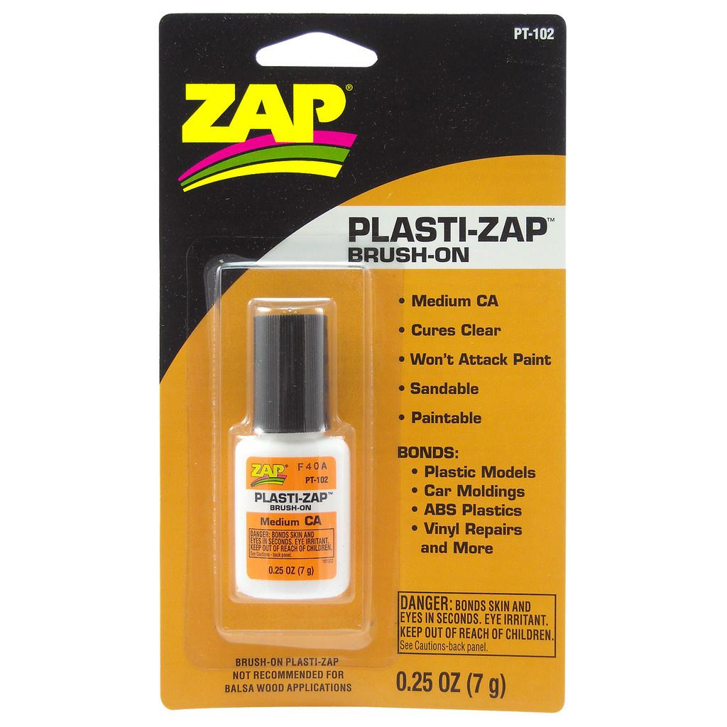 Zap Brush-On Plasti Zap - 7g - ZAP - ZAP-PT102