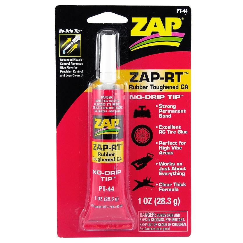 Zap Rubber Toughened Ca Glue - 28g - ZAP - ZAP-PT44