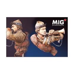 US Civil War Trumpeter - Scale  1/9 - Mig Productions - MIG9019