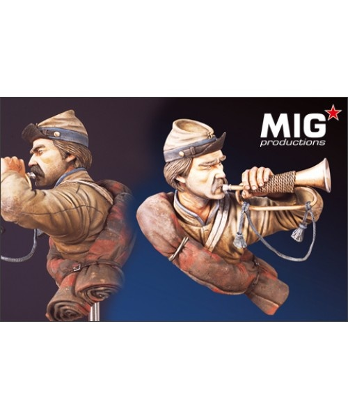 Mig Productions US Civil War Trumpeter - Scale  1/9 - Mig Productions - MIG9019