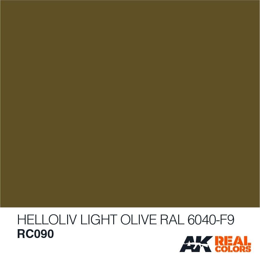 AK-Interactive Helloliv-Light Olive RAL 6040-F9 - 10ml - RC090