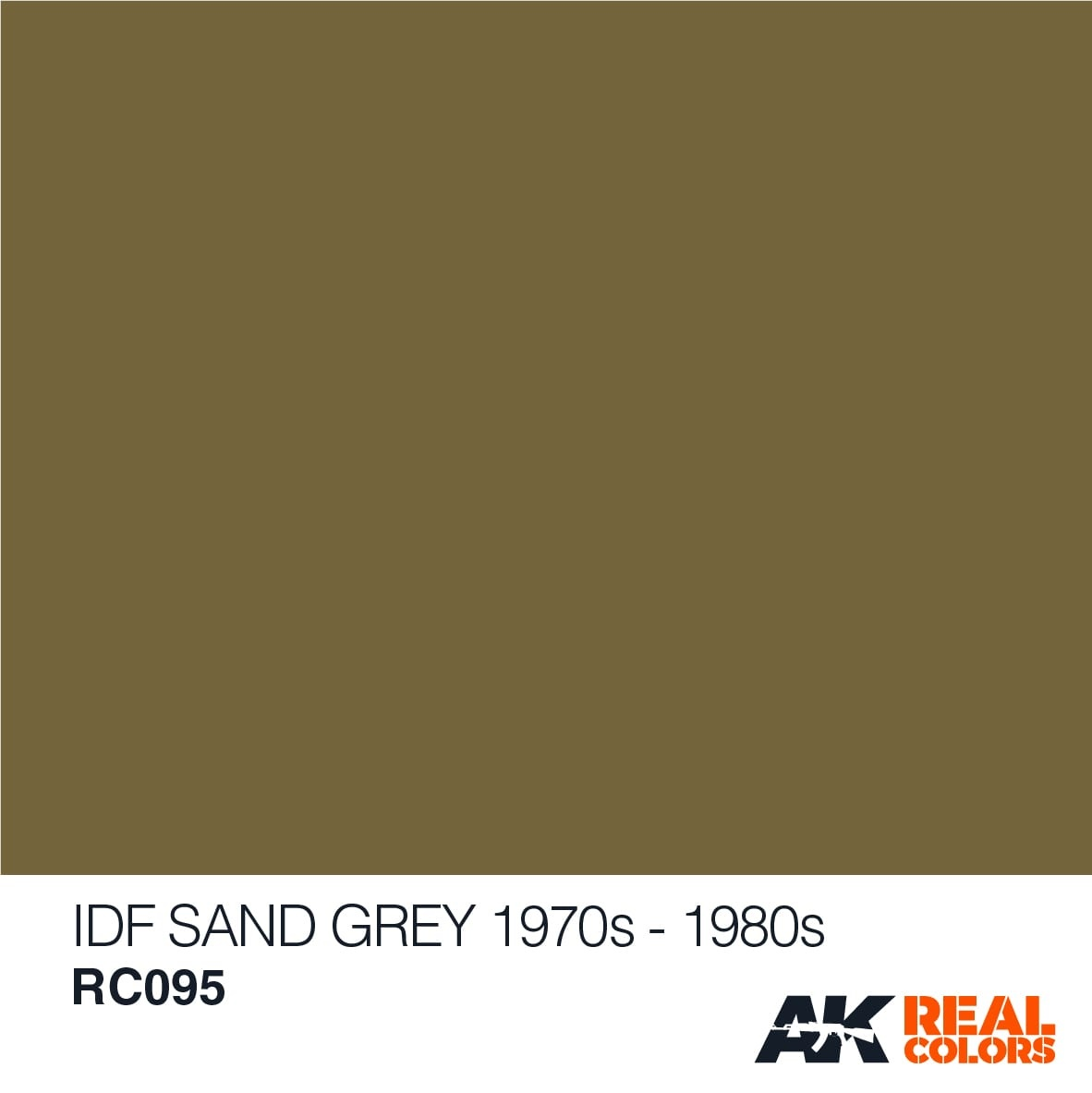 AK-Interactive IDF Sinai Grey 1982 - 10ml - RC095
