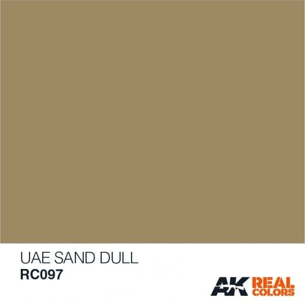 AK-Interactive UAE Sand Dull - 10ml - RC097