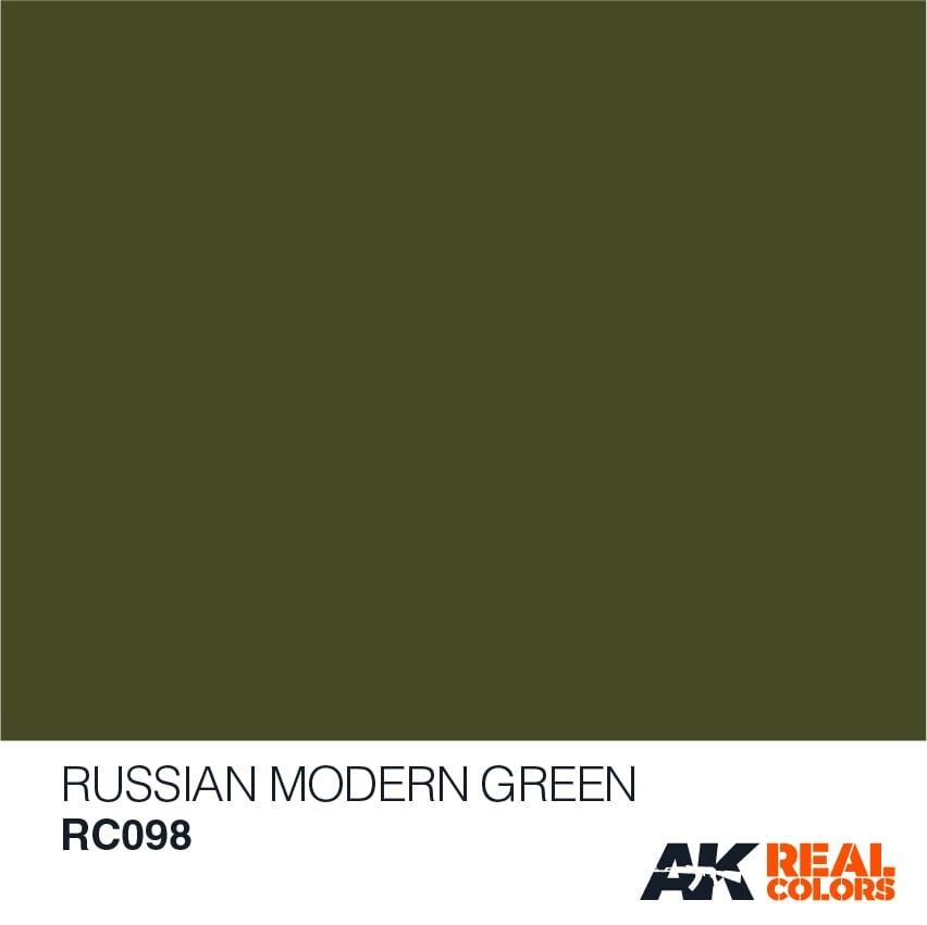AK-Interactive Russian Modern Green - 10ml - RC098