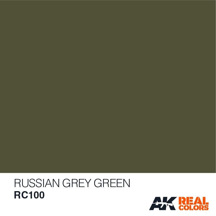 AK-Interactive Russian Grey Green - 10ml - RC100