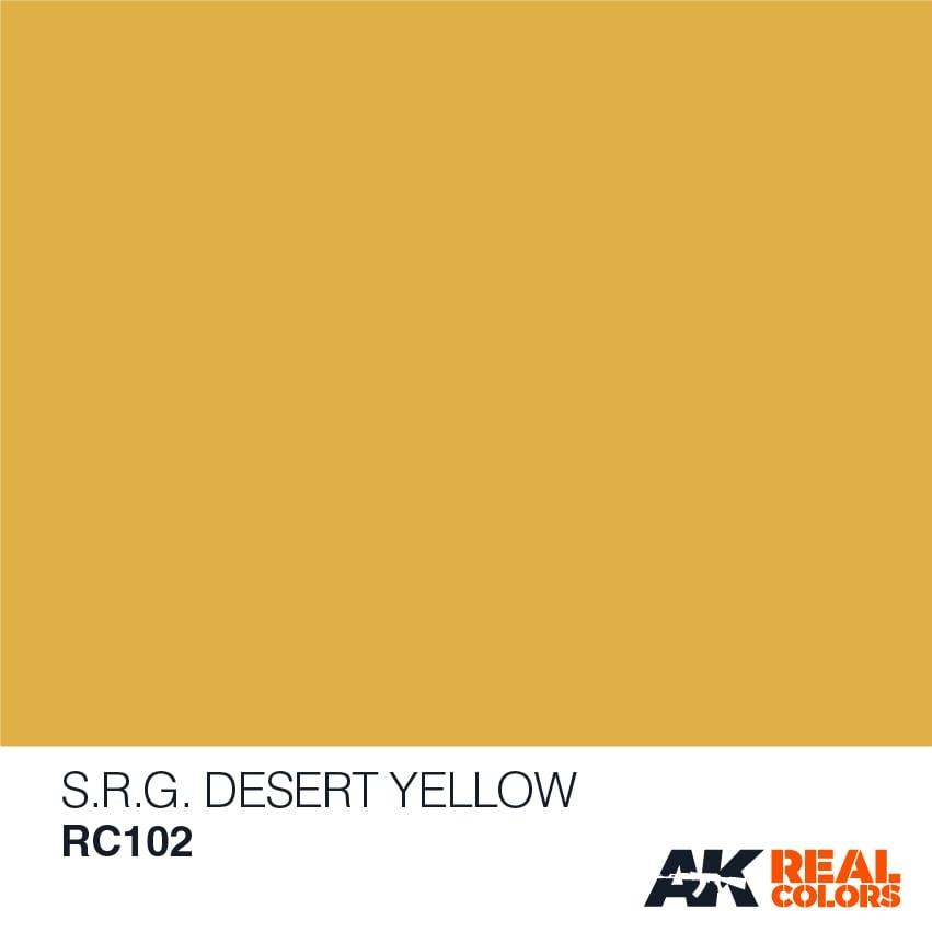 AK-Interactive Syrian Republican Guard Desert Yellow - 10ml - RC102