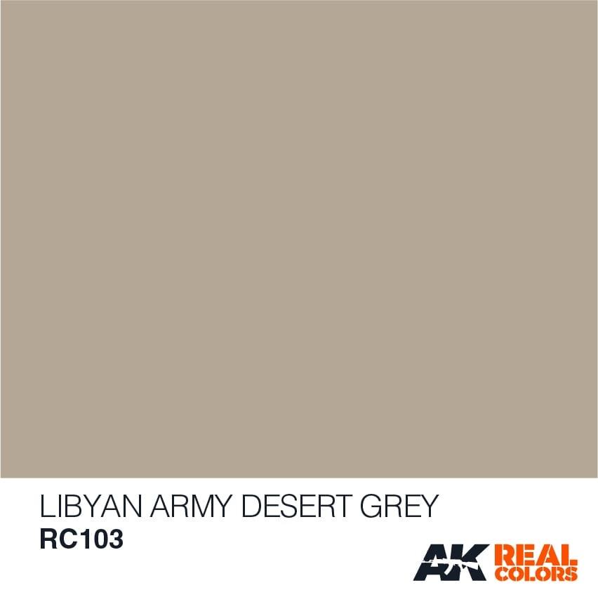 AK-Interactive Libyan Army Desert Grey - 10ml - RC103