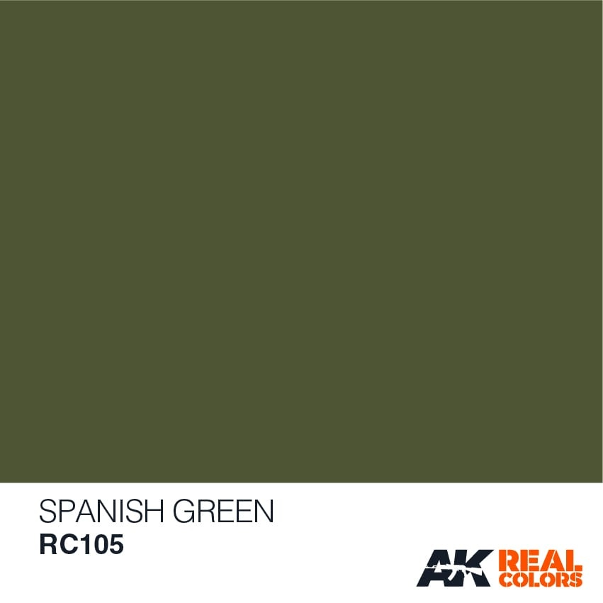 AK-Interactive Spanish Green - 10ml - RC105