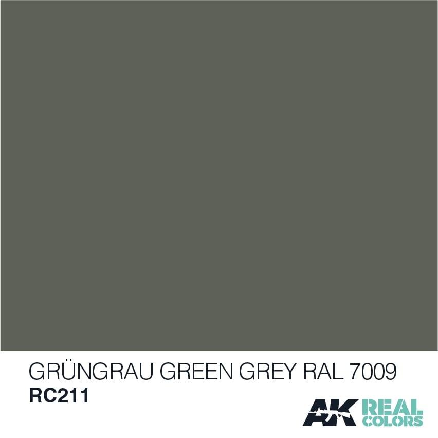 AK-Interactive Grüngrau-Green Grey RAL 7009 (Modern) - 10ml - RC211