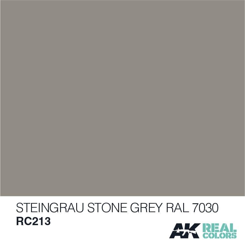 AK-Interactive Steingrau-Stone Grey RAL 7030 - 10ml - RC213