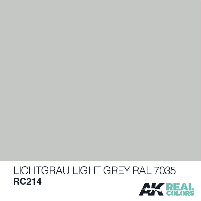 AK-Interactive Lichtgrau-Light Grey RAL 7035 - 10ml - RC214