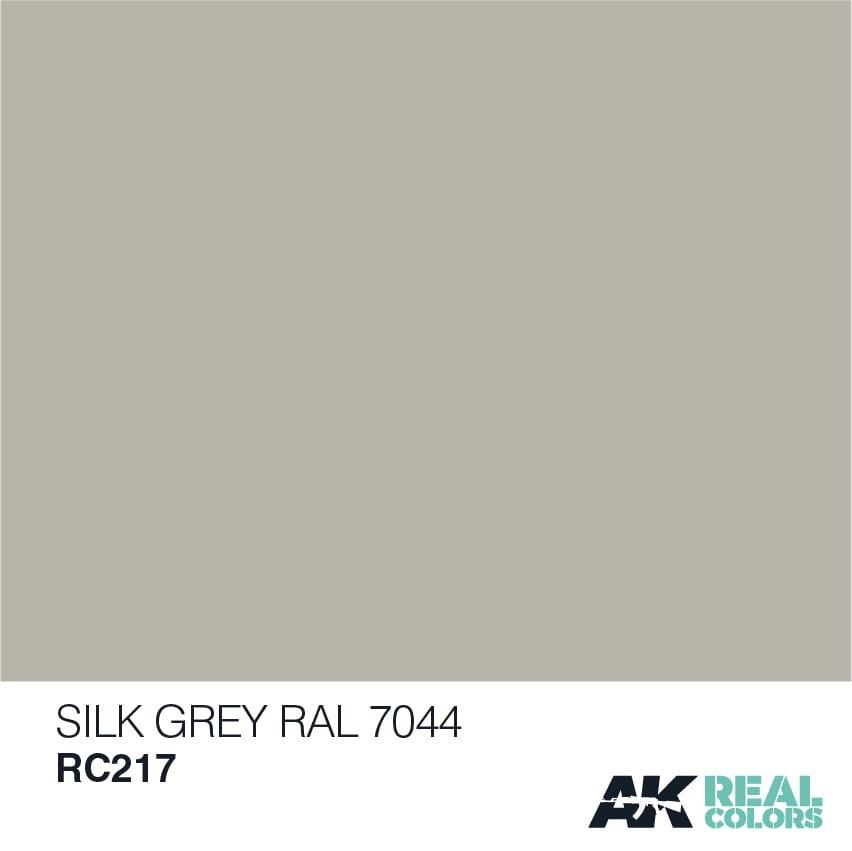 AK-Interactive Seidengrau-Silk Grey RAL 7044 - RC217