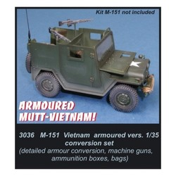 M-151 Vietnam armoured version  - Scale 1/35 - CMK - CMK3036