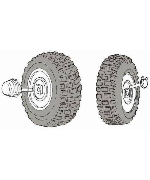 CMK M939 wheels - Scale 1/35 - CMK - CMK3005