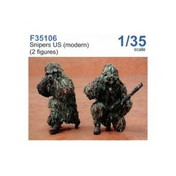 Snipers US modern - Scale 1/35 - CMK - CMKF35106