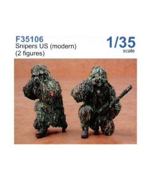 CMK Snipers US modern - Scale 1/35 - CMK - CMKF35106