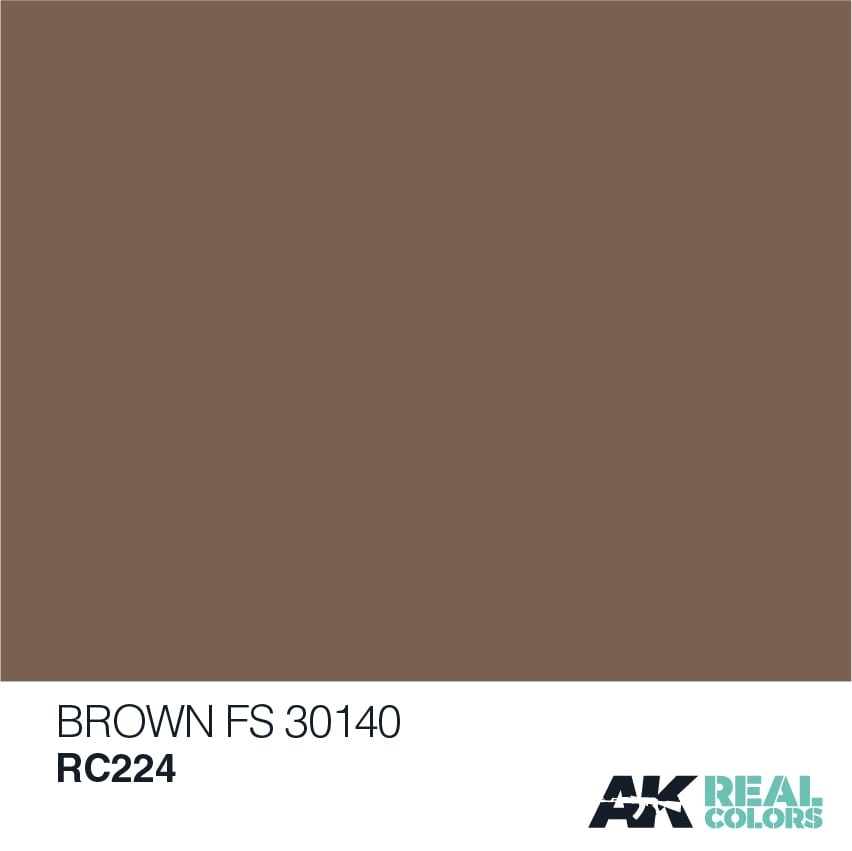 AK-Interactive Brown FS 30140 - 10ml - RC224