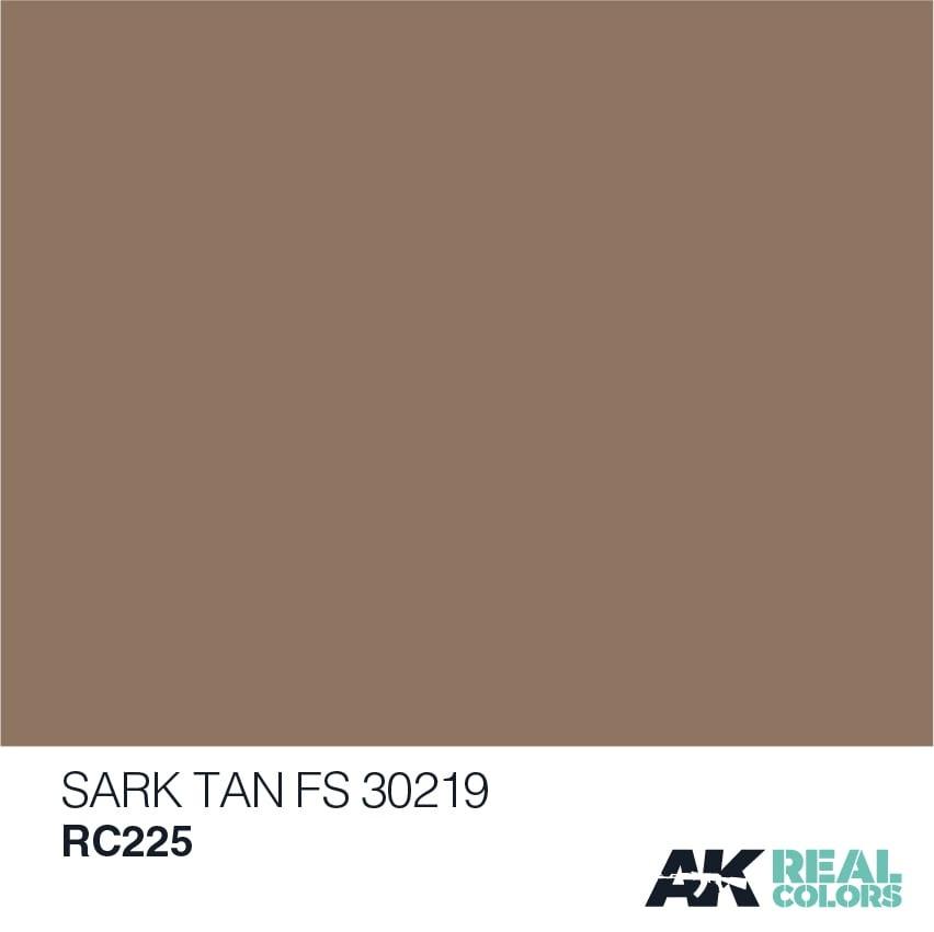 AK-Interactive Dark Tan FS 30219 - 10ml - RC225