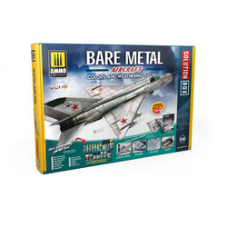 Bare Metal Aircraft. Colors And Weathering System - Ammo by Mig Jimenez - A.MIG-7721