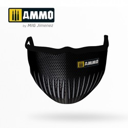 Ammo Face Mask (Hygienic Protective Mask 100% Polyester) - Ammo by Mig Jimenez - A.MIG-8056