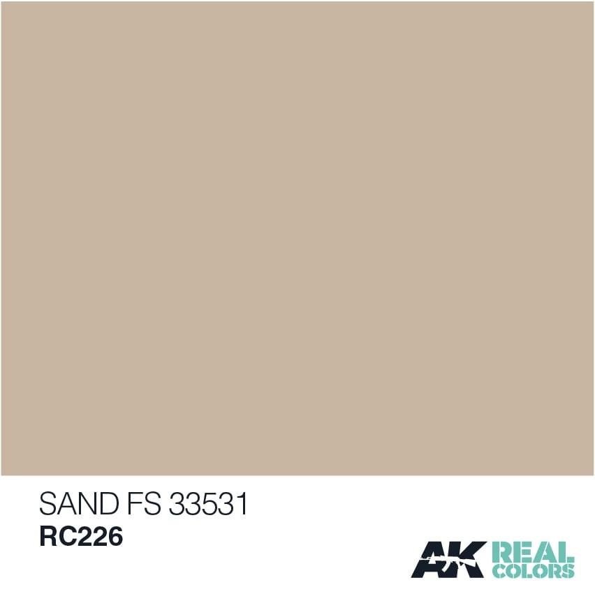 AK-Interactive Sand S 33531 - 10ml - RC226