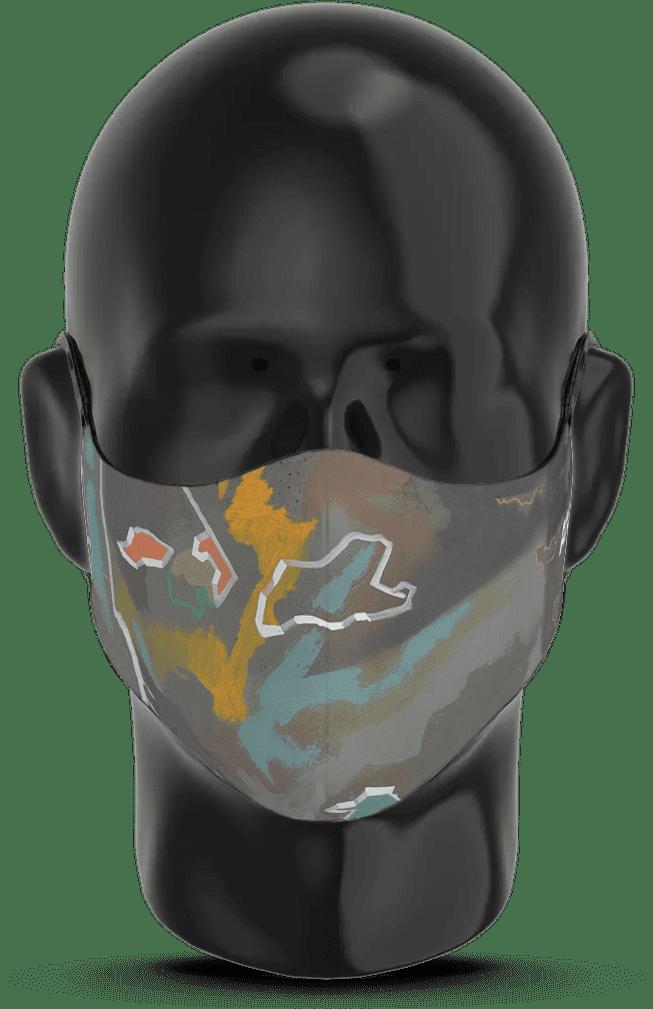 AK-Interactive Urban Camouflage Face Mask 1 - AK-Interactive - AK-9096