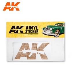 Vinyl Sticker Orange - AK-Interactive - AK-9092
