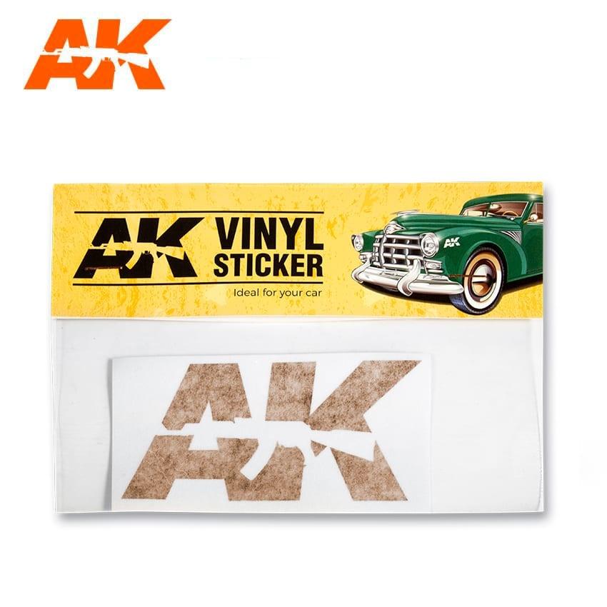 AK-Interactive Vinyl Sticker Orange - AK-Interactive - AK-9092