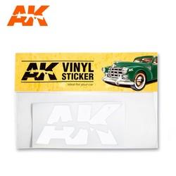Vinyl Sticker White - AK-Interactive - AK-9094