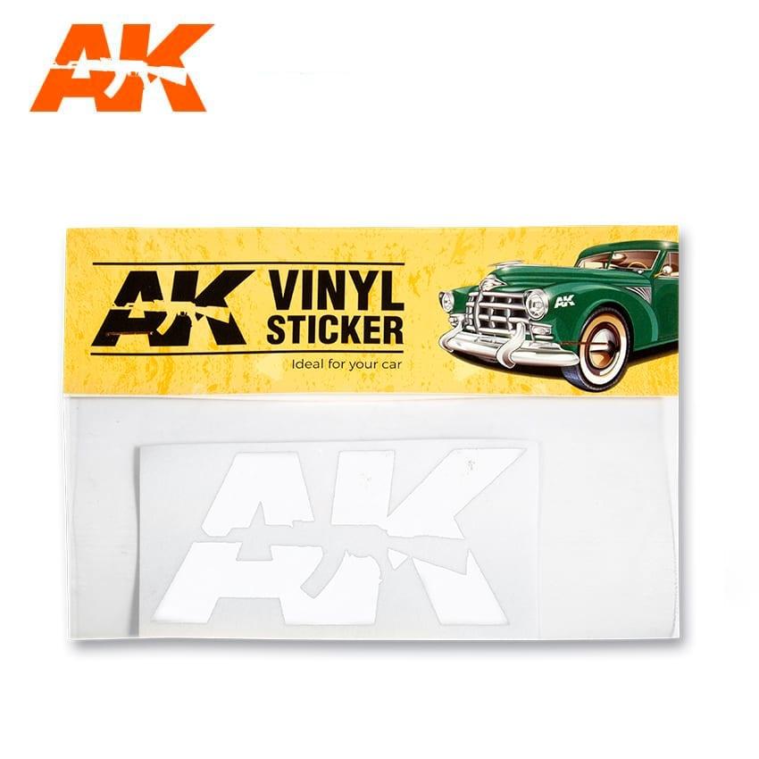 AK-Interactive Vinyl Sticker White - AK-Interactive - AK-9094