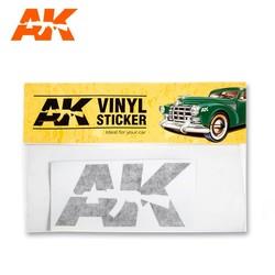 Vinyl Sticker Black - AK-Interactive - AK-9093
