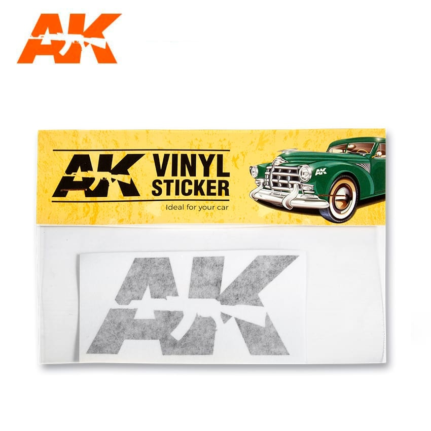 AK-Interactive Vinyl Sticker Black - AK-Interactive - AK-9093