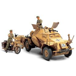 Sd.Kfz.222 Leichter Panzerspahwagen 4x4 Afrika Korps - Scale 1/35 - Tamiya - Tam35286