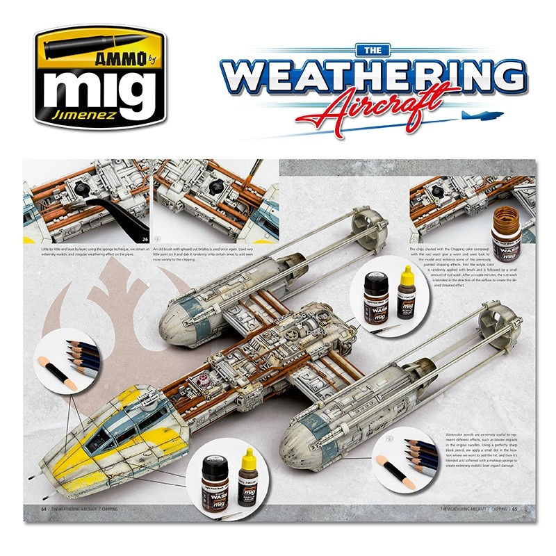 The Weathering Aircraft The Weathering Aircraft - Issue 2. Chipping - English - A.MIG-5202