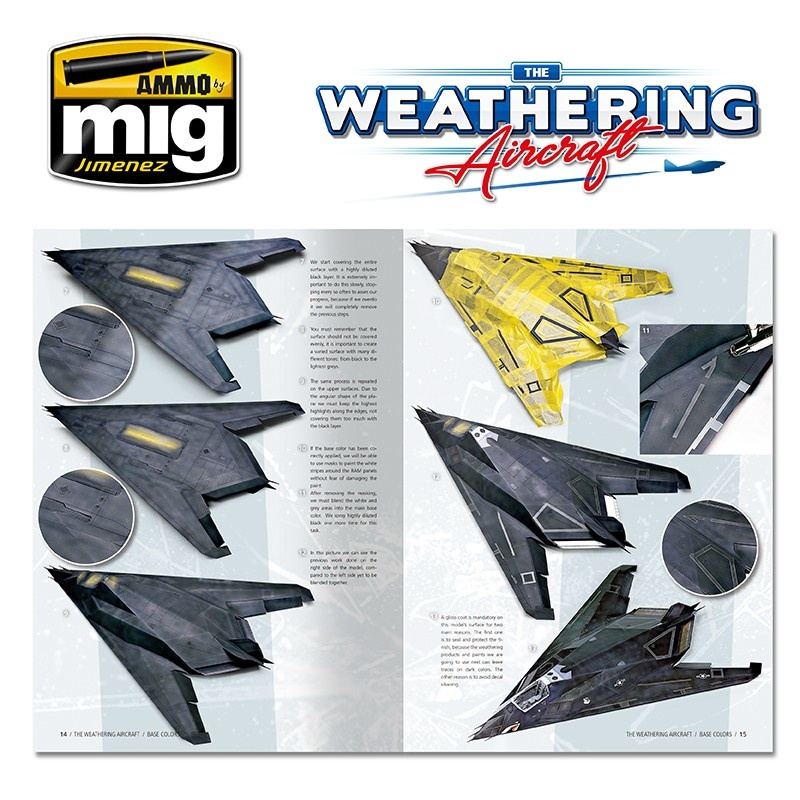 The Weathering Aircraft The Weathering Aircraft - Issue 4. Base Colors - English - A.MIG-5204