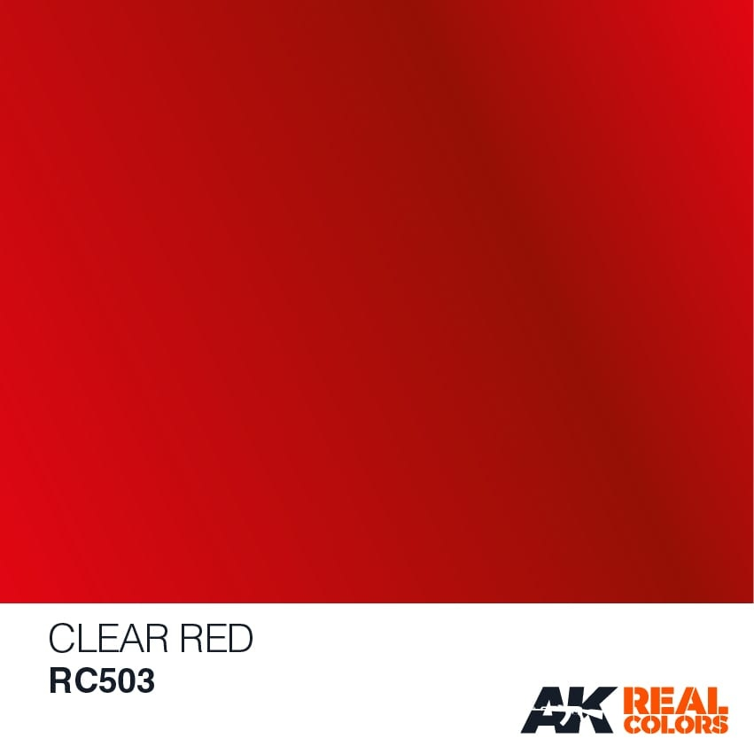 AK-Interactive Clear Red - 10ml - RC503