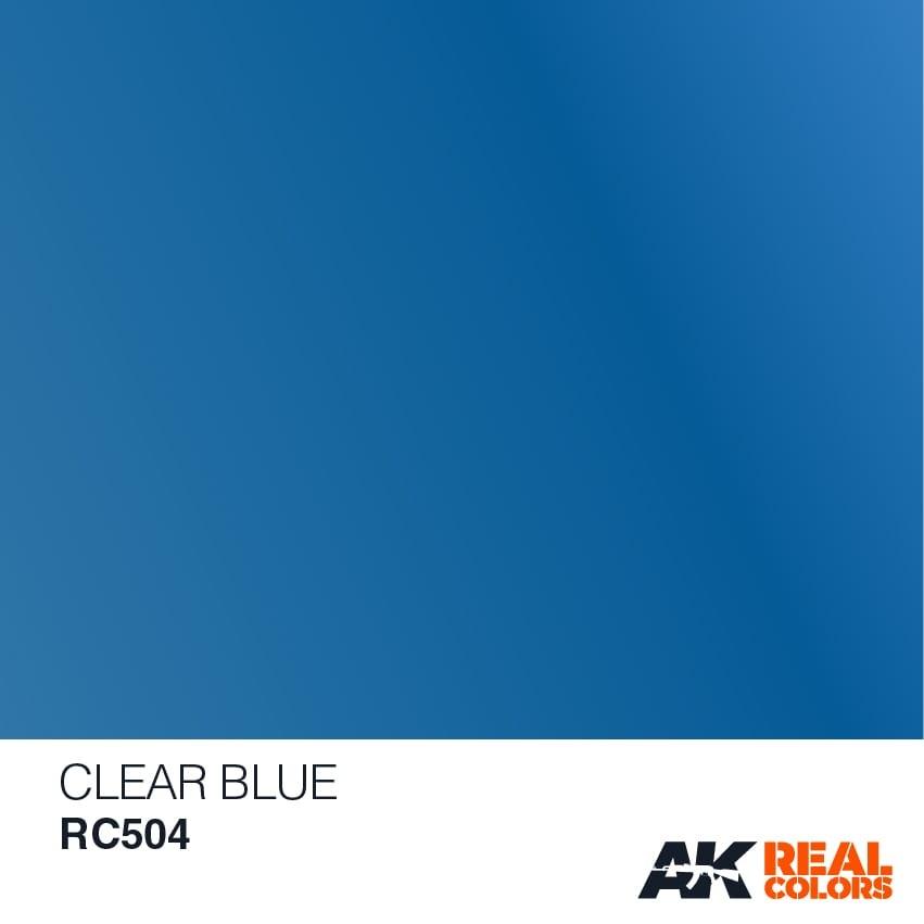 AK-Interactive Clear Blue - 10ml - RC504