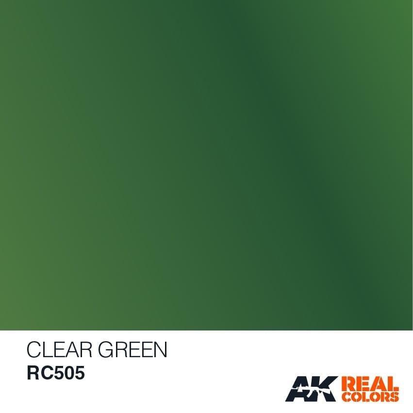 AK-Interactive Clear Green - 10ml - RC505
