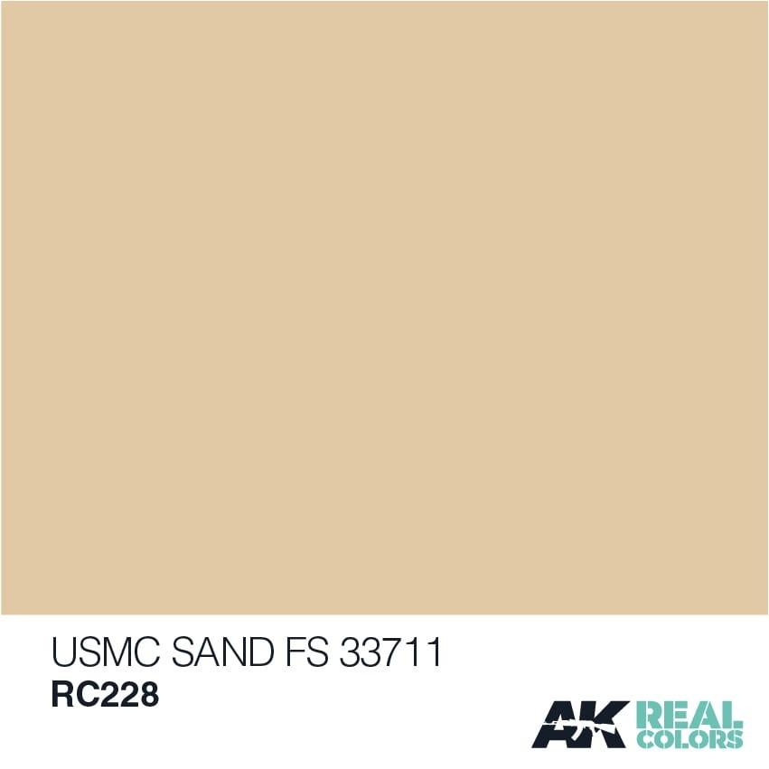 AK-Interactive USMC Sand FS 33711 - 10ml - RC228