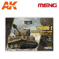 Tiger I German Heavy Tank - Cartoon Model - Meng Models - MM Wwt-001