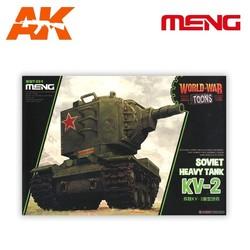 Soviet Heavy Tank Kv-2 - Cartoon Model - Meng Models - MM Wwt-004