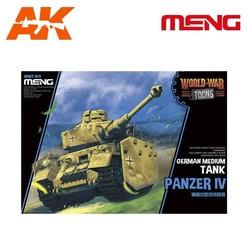 German Medium Tank Panzer Iv - Cartoon Model - Meng Models - MM Wwt-013