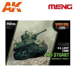 U.S. Light Tank M5 Stuart - Cartoon Model - Meng Models - MM Wwt-012