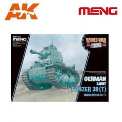 German Light Panzer 38(T) - Cartoon Model - Meng Models - MM Wwt-011