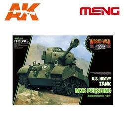 U.S. Heavy Tank M26 Pershing - Cartoon Model - Meng Models - MM Wwt-010
