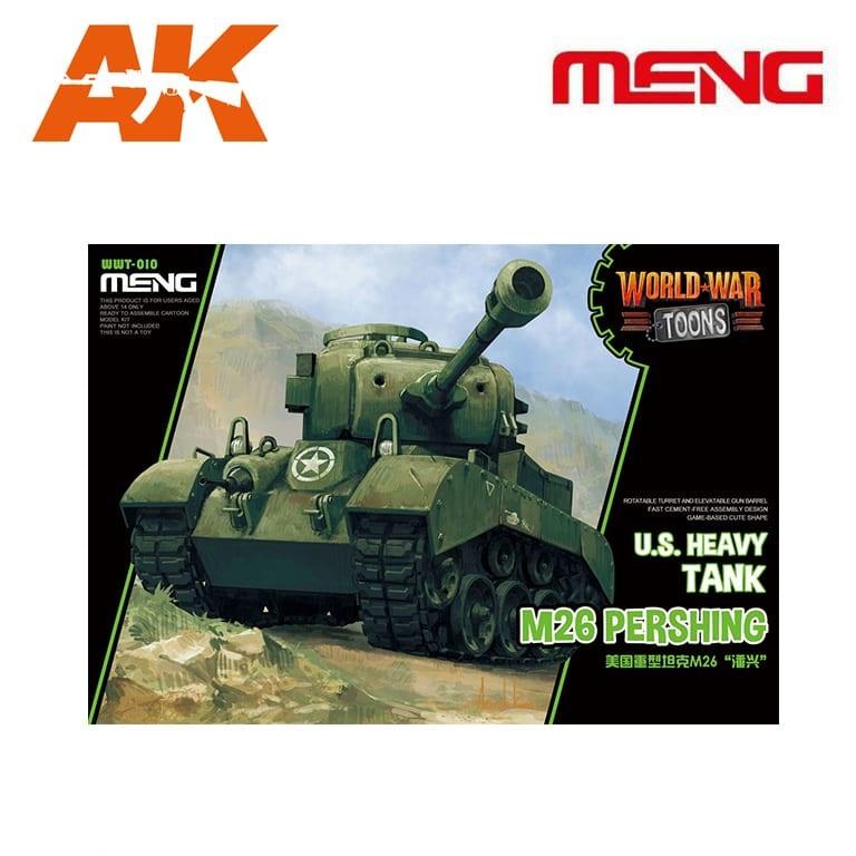 Meng Models U.S. Heavy Tank M26 Pershing - Cartoon Model - Meng Models - MM Wwt-010