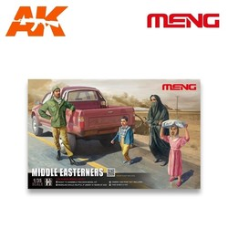 Middle Easterners in The Street - Scale 1/35 - Meng Models - MM HS-001